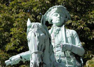 Karol Wilhelm Ferdynand - książę Brunszwiku - pomnik