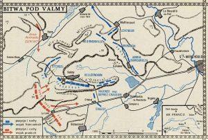 Plan bitwy pod Valmy